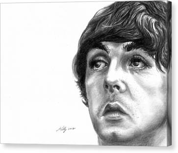 Paul Canvas Print by Kathleen Kelly Thompson