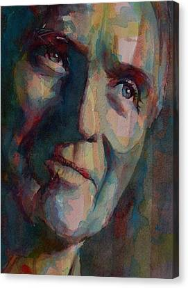 Movie Stars Canvas Print - Paul Newman by Paul Lovering