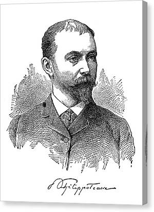 Paul Philippoteaux (1846-1923) Canvas Print by Granger