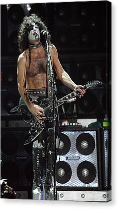 Paul Stanley Kiss Canvas Print by Don Olea
