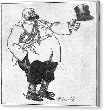 Paul Von Rennenkampf (1854-1918) Canvas Print