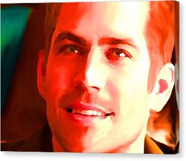 Paul Walker Canvas Print by Parvez Sayed