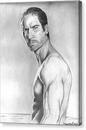 Paul Walker Canvas Print by Roland Benipayo