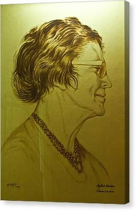 Paula Ben-gurion Canvas Print