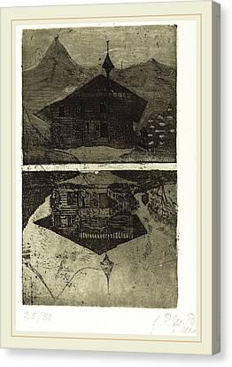 Paula Modersohn-becker German, 1876-1907 Canvas Print by Litz Collection