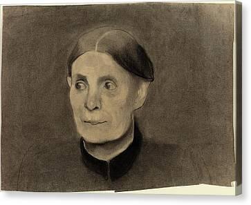 Paula Modersohn-becker German, 1876 - 1907 Canvas Print by Quint Lox
