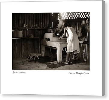 Canvas Print featuring the photograph Paulina Mendosa by Tina Manley