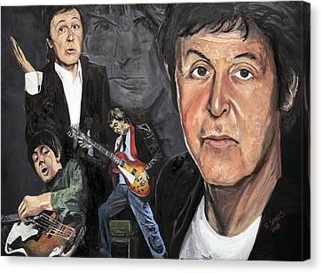 Paulmccartney Canvas Print