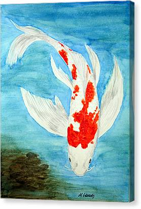 Paul's Koi Canvas Print