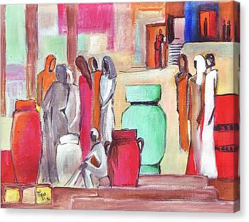 Pause Douceur Canvas Print