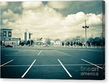 Paved Paradise Canvas Print by Colleen Kammerer