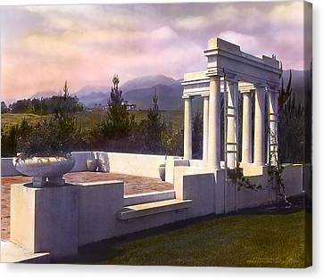 Pavilion Canvas Print by Terry Reynoldson
