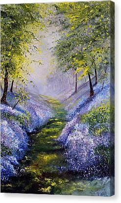 Pavilioned In Splendor Canvas Print
