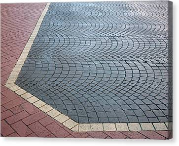 Paving Bricks Canvas Print by Pete Trenholm