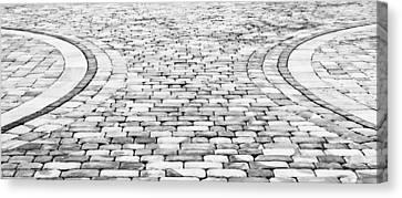 Paving Stones Canvas Print by Tom Gowanlock