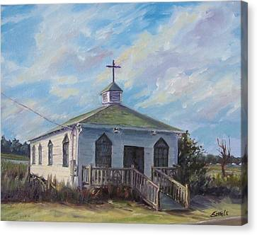 Pawleys Chapel Canvas Print
