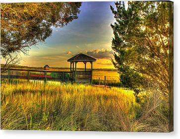 Pawleys Island Sc Canvas Print by Ed Roberts