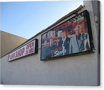 Pawn Stars Canvas Print by Kay Novy