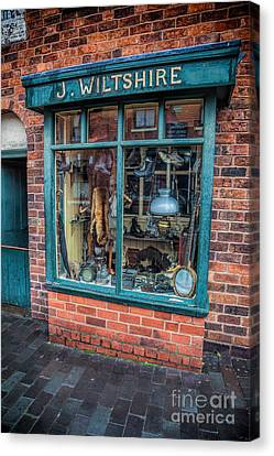 Pawnbrokers Shop Canvas Print by Adrian Evans
