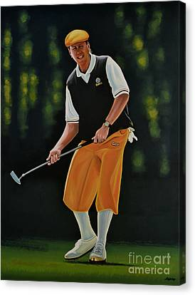 Payne Stewart Canvas Print by Paul Meijering
