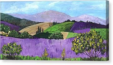 Pays De Sault Canvas Print by Anastasiya Malakhova