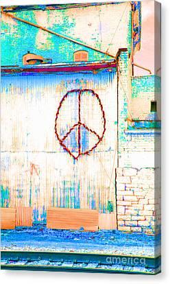 Peace 1 Canvas Print by Minnie Lippiatt