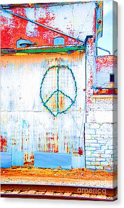 Peace 3 Canvas Print