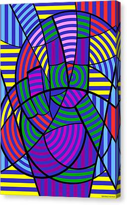Canvas Print featuring the digital art Peace 3 Of 12 by Randall Henrie