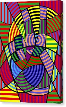 Canvas Print featuring the digital art Peace 4 Of 12 by Randall Henrie