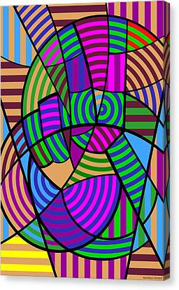 Canvas Print featuring the digital art Peace 6 Of 12 by Randall Henrie