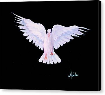 Peace Canvas Print by Adele Moscaritolo