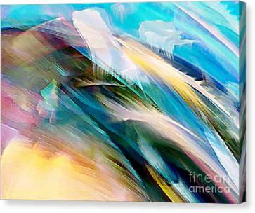 Canvas Print featuring the digital art Peace And Calm by Margie Chapman
