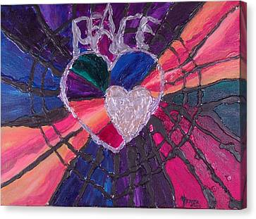 Peace Canvas Print by Christine Nichols