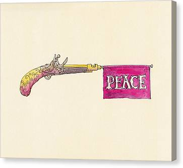 Peace Canvas Print by Eric Fan