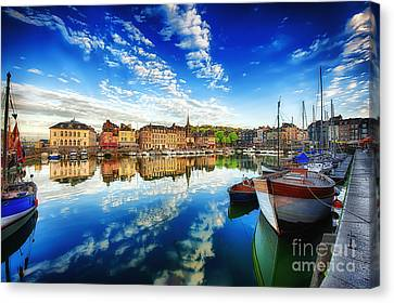 Peace Honfleur Canvas Print