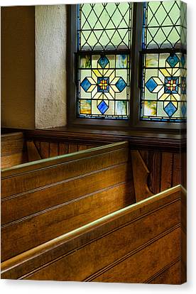 Peace In The Pews Canvas Print