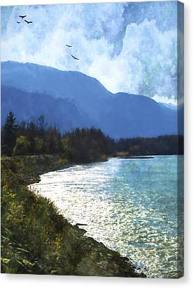 Peace In The Valley - Landscape Art Canvas Print by Jordan Blackstone