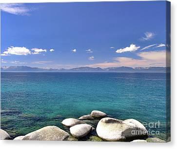 Peace - Lake Tahoe Canvas Print
