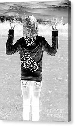 Peace Canvas Print by Lori Frostad