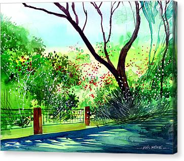 Peace Of Mind 1 Canvas Print by Anil Nene
