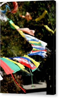Peace On The Winds Canvas Print