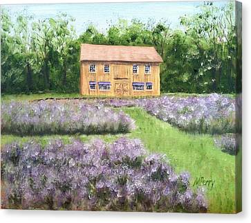 Peace Valley Lavender Farm Canvas Print