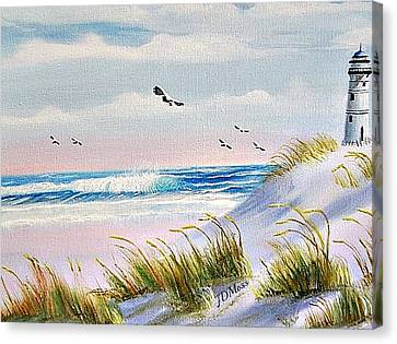 Peaceful Canvas Print by Janet Moss