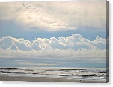 Peaceful Morning Canvas Print by Kelly Nowak