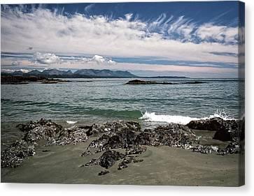 Peaceful Pacific Beach Canvas Print