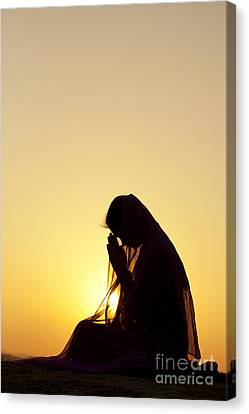 Peaceful Prayer Canvas Print by Tim Gainey