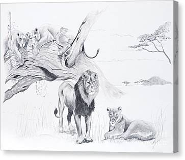 Peaceful Pride Canvas Print