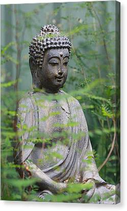 Canvas Print featuring the photograph Peaceful Repose by Keith Hawley