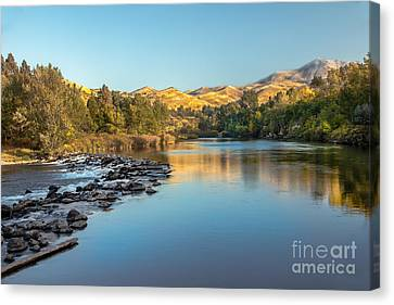 Peaceful River Canvas Print by Robert Bales