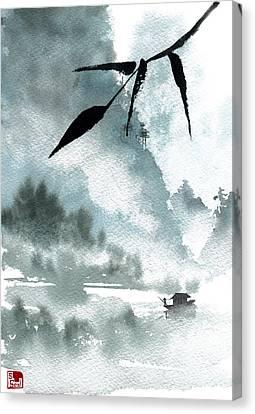 Peaceful River Canvas Print by Sean Seal